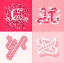 36 Days Of Type | Lettering. Un proyecto de Ilustración, Diseño gráfico y Tipografía de Jota Erre - 31-03-2014