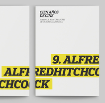 Fascículo Alfred Hitchcock. A Editorial Design, Graphic Design, T, and pograph project by Fredic Barrera - 09-06-2012