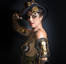Retratos  de bodypaint. A Photograph project by Alberto Rosa - Jul 18 2014 12:00 AM