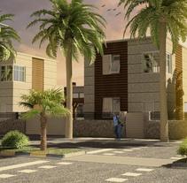 3D Urbanización_001. Un proyecto de 3D y Arquitectura de Sergio Fernández Moreno         - 20.07.2014