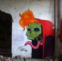 G:R:A:F:F. Um projeto de Artes plásticas e Pintura de Rojo Martínez         - 22.07.2014