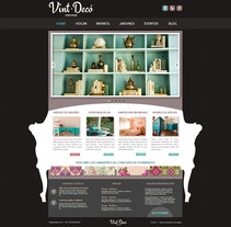 Web Design: Vint-Decó. A Br, ing, Identit, Graphic Design, Web Design, and Web Development project by Laura Liberal         - 23.07.2014