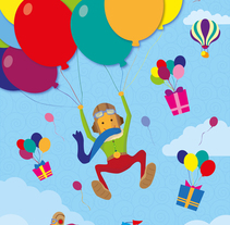 ILUSTRACIONES PARA PIÑATAS INFANTILES. A Design, Illustration, Fine Art, and Graphic Design project by Elías C. Debón Verdú         - 03.08.2014
