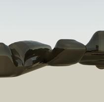Sound Vs Space. Um projeto de 3D, Arquitetura e Design industrial de Marco Sulis         - 05.08.2014
