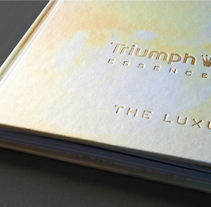 Triumph Essence Brand Book – Spring/Summer 2012. A Design, Br, ing, Identit, Editorial Design, and Graphic Design project by Katrin Horstkemper         - 30.04.2012