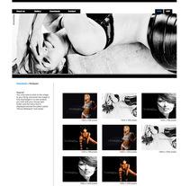 Oficial web (Riczabeth Actress). Um projeto de Direção de arte, Br, ing e Identidade e Web design de Jorge Armando Suarez Vidal         - 09.11.2013