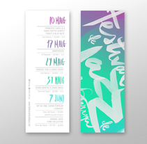 Festival de Jazz de la Garriga 2014. A Br, ing, Identit, Graphic Design, T, pograph, and Writing project by La Cova Studio         - 12.08.2014