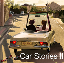 Car stories II. A Illustration project by Xoan Baltar - 12-08-2014