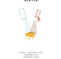 Pastéis de Belém's recipe (Magazine illustration). A Illustration project by Paloma Corral - Aug 19 2014 12:00 AM
