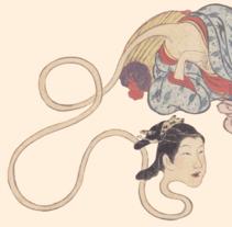 YOKAI · Monstruos y fantasmas en Japón. Un proyecto de Diseño editorial y Diseño gráfico de Pablo Fernández Tejón - Jueves, 21 de agosto de 2014 00:00:00 +0200