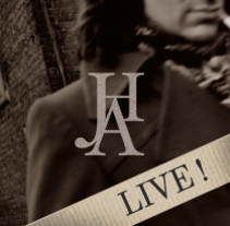 JHA · LIVE! · Poster & Flyer Design. A Br, ing, Identit, Art Direction, Design, Editorial Design, Graphic Design, Events, Design Management, Music, Audio, and Advertising project by Mapy D.H. - Oct 01 2014 12:00 AM