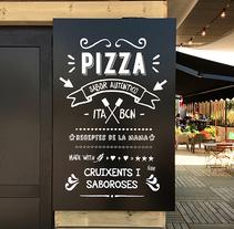 La Squadra, Pop-up Store. Um projeto de Br e ing e Identidade de Floriane Jambu         - 24.08.2014