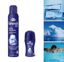 Desodorants Kinesia. Un proyecto de Diseño gráfico y Diseño de producto de Rosor Segura i Casadevall         - 19.09.2005
