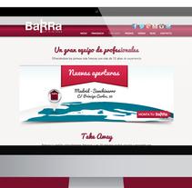 Web Corporativa BaRRa de Pintxos. A Web Design, and Web Development project by Mokaps  - 26-06-2013