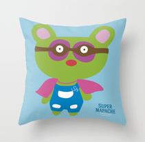Superheroes en el hogar. Un proyecto de Diseño de personajes, Diseño de producto e Ilustración de Bevero  - Viernes, 25 de julio de 2014 00:00:00 +0200