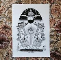 """AMOR ENTREGADO"". A Illustration project by Álvaro Parra Romo         - 04.09.2014"
