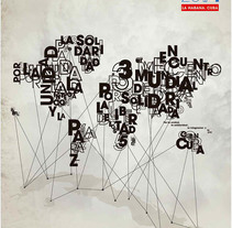 Encuentro Mundial. A Design, Illustration, Br, ing, Identit, Graphic Design, T, and pograph project by Ernesto Anton Peña         - 07.09.2014