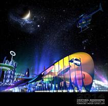 Los Supersónicos - Theme Park -  IMSN30 / 8130. Um projeto de Design, Publicidade, 3D e Eventos de Cristóbal Manzanares         - 05.08.2014