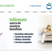 Alfamedical. Um projeto de UI / UX, Web design e Desenvolvimento Web de Pablo Núñez Argudo         - 20.11.2013