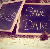 Invitación de boda original - Stop Motion. Um projeto de Motion Graphics, Cinema, Vídeo e TV e Eventos de Latido Creativo         - 15.09.2014
