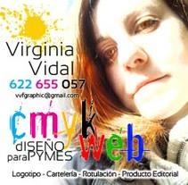 Portfolio y CV. Um projeto de Design gráfico de Virginia Vidal Fernández         - 17.09.2014