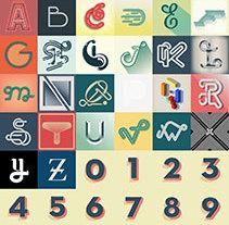 36 days of type. Un proyecto de Diseño, Tipografía y Escritura de Dario Trapasso - 19-09-2014
