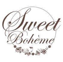 Logo Sweet Bohème. Um projeto de Br, ing e Identidade, Moda e Design gráfico de Sara Pau         - 30.09.2013