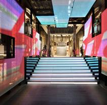 H&M Flagship store en Barcelona. Un proyecto de Arquitectura, Br, ing e Identidad, Diseño de muebles, Arquitectura interior y Diseño de interiores de Lara Pérez-Porro         - 19.11.2008