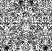 Estampacion II . Un proyecto de Ilustración, Moda, Bellas Artes y Diseño gráfico de kamila         - 22.09.2014