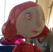 Ginger. Animació Stop Motion.. A Animation project by Eva Sans Ribera         - 25.09.2014