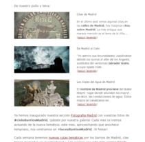 Newsletter De Manzana en Manzana. Um projeto de Design, UI / UX, Informática, Marketing e Web design de Elena Sánchez Samos         - 02.12.2013