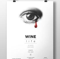 winelife. Un proyecto de Br, ing e Identidad y Diseño gráfico de Alberto Bermúdez Ruano         - 02.10.2014