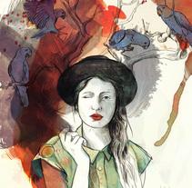 Los Pájaros de Neruda. A Illustration, and Painting project by Juraj Borko - 30-09-2014
