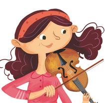 Ilustraciones para libro de alumno.. A Illustration project by Nuria  - 30-06-2014