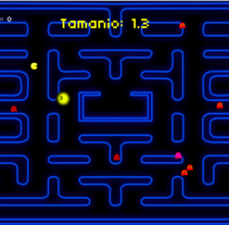 Pac Man - Only one food. A Game Design project by Luciano De Liberato         - 12.10.2014