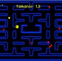Pac Man - Only one food. Um projeto de Design de jogos de Luciano De Liberato         - 12.10.2014