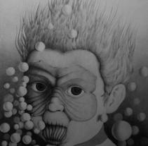 Bubble Boy. Un proyecto de Diseño, Ilustración, Diseño de personajes, Bellas Artes, Pintura y Comic de Refrito Studio  - 17-10-2014
