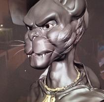Modelado Leopardo . A 3D project by jesus         - 21.10.2014
