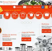 La Ideal. Un proyecto de UI / UX, Diseño gráfico, Marketing y Diseño Web de Darvin García         - 21.10.2014