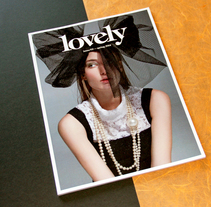 LOVELY THE MAG ISSUE#2. A Art Direction, Editorial Design, and Graphic Design project by Pablo Abad - Oct 23 2014 12:00 AM