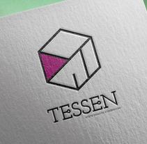 Domótica Tessen Logo. Un proyecto de Br, ing e Identidad y Diseño gráfico de Kurukatá Studios          - 01.11.2014