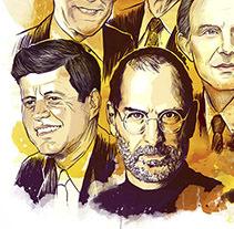 IESE Magazine illustration. Un proyecto de Ilustración y Dirección de arte de Enrique Guillamón Hidalgo - 04-09-2010