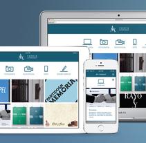 ALT web adaptable. A Web Design project by ferminALT - 16-11-2014