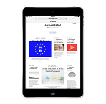Estudio de arquitectura AAU ANASTAS. A Web Development, Graphic Design, and Web Design project by Atipus  - Nov 18 2014 12:00 AM