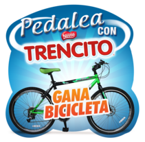 Pedalea con Trencito Nestle. A Editorial Design, and Graphic Design project by Carolina Bedoya Vergara         - 17.11.2014