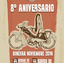 Cartel Pub Zeta. A Illustration, and Graphic Design project by Marco Antonio Izquierdo Carretero         - 18.11.2014