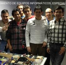 Técnico en mantenimiento de equipos informáticos, especialista en impresoras. A IT project by María Díaz-Llanos Lecuona         - 19.11.2014
