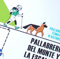 """Ilustraciones """"Pallabreru del monte y la escalada"""". Un proyecto de Ilustración de Marco Antonio Paraja Corbato - 04-09-2014"""