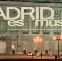 Madrid Es Música. Un proyecto de Cine, vídeo y televisión de Manu Barrena Jiménez - 28-02-2013