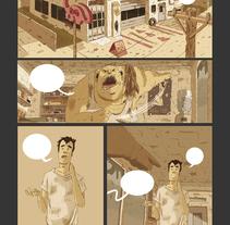 COMIC BOOK (WIP). Um projeto de Ilustração, Design de personagens e História em quadrinhos de Marc Valls         - 30.11.2014